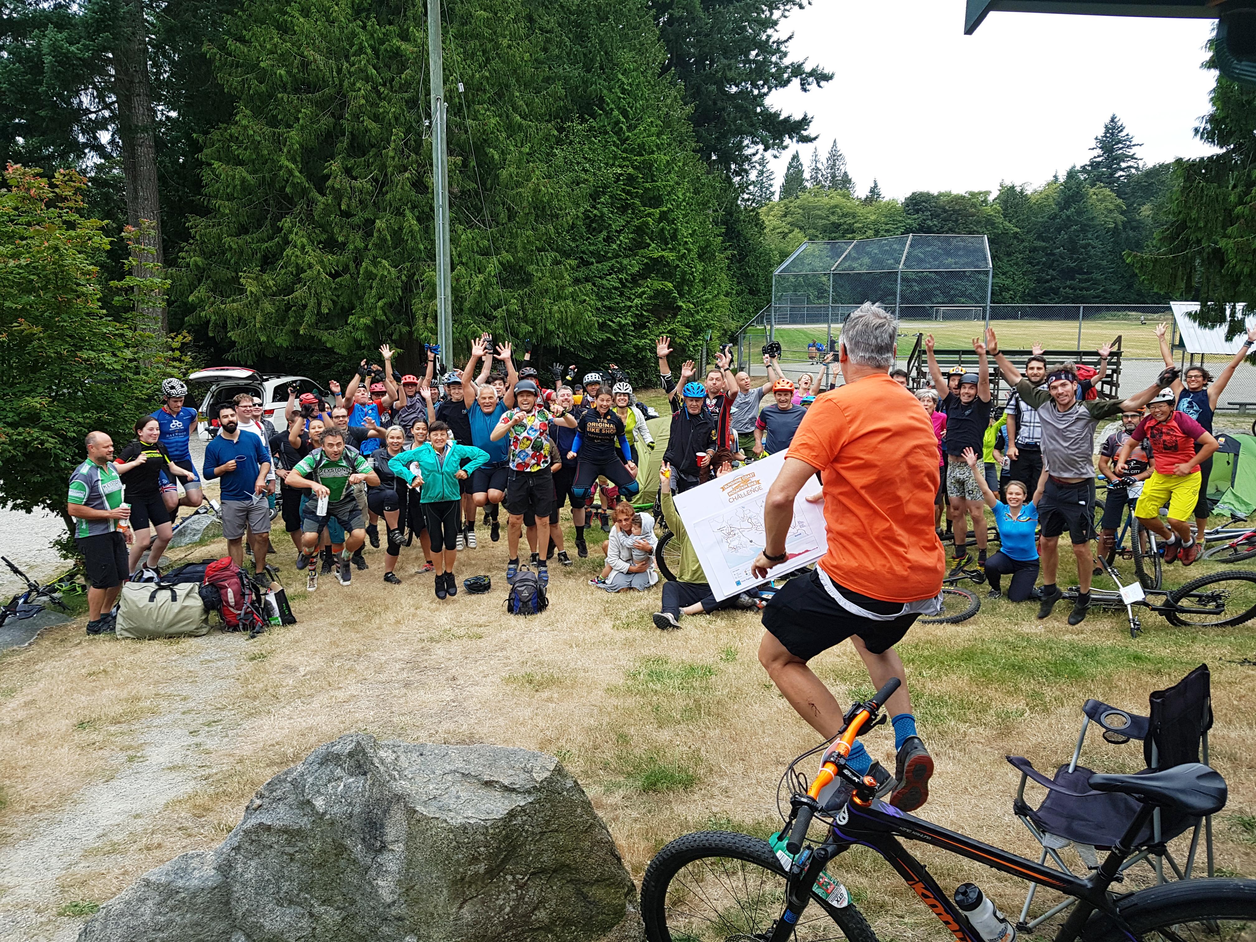 Sunshine Coast Mountain Bike Trail Challenge